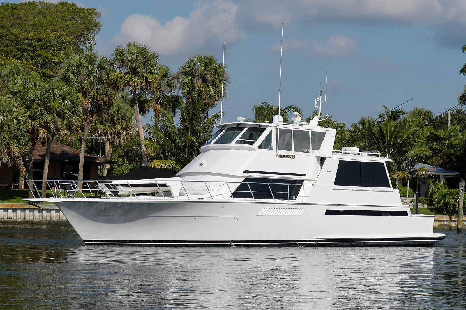 60 Viking Motor Yacht For Sale Of 60 Viking Boat 1997 Woo Hoo For Sale In Palm Beach