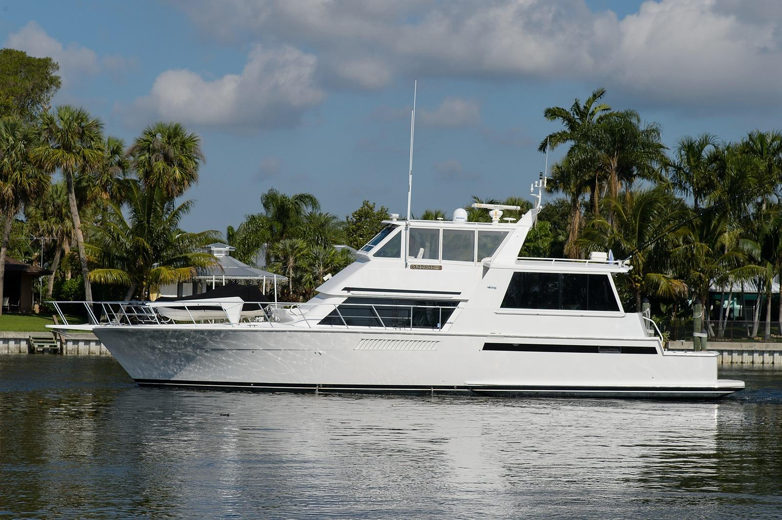 60 viking boat 1997 woo hoo for sale in palm beach for Palm beach motor yachts for sale