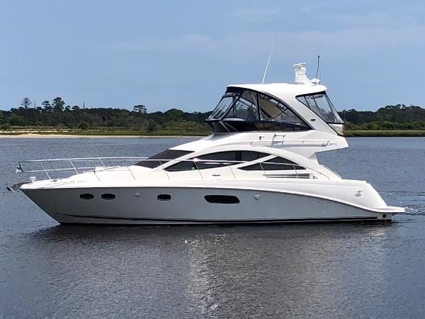 2012 45' Sea Ray 450 Sedan Bridge