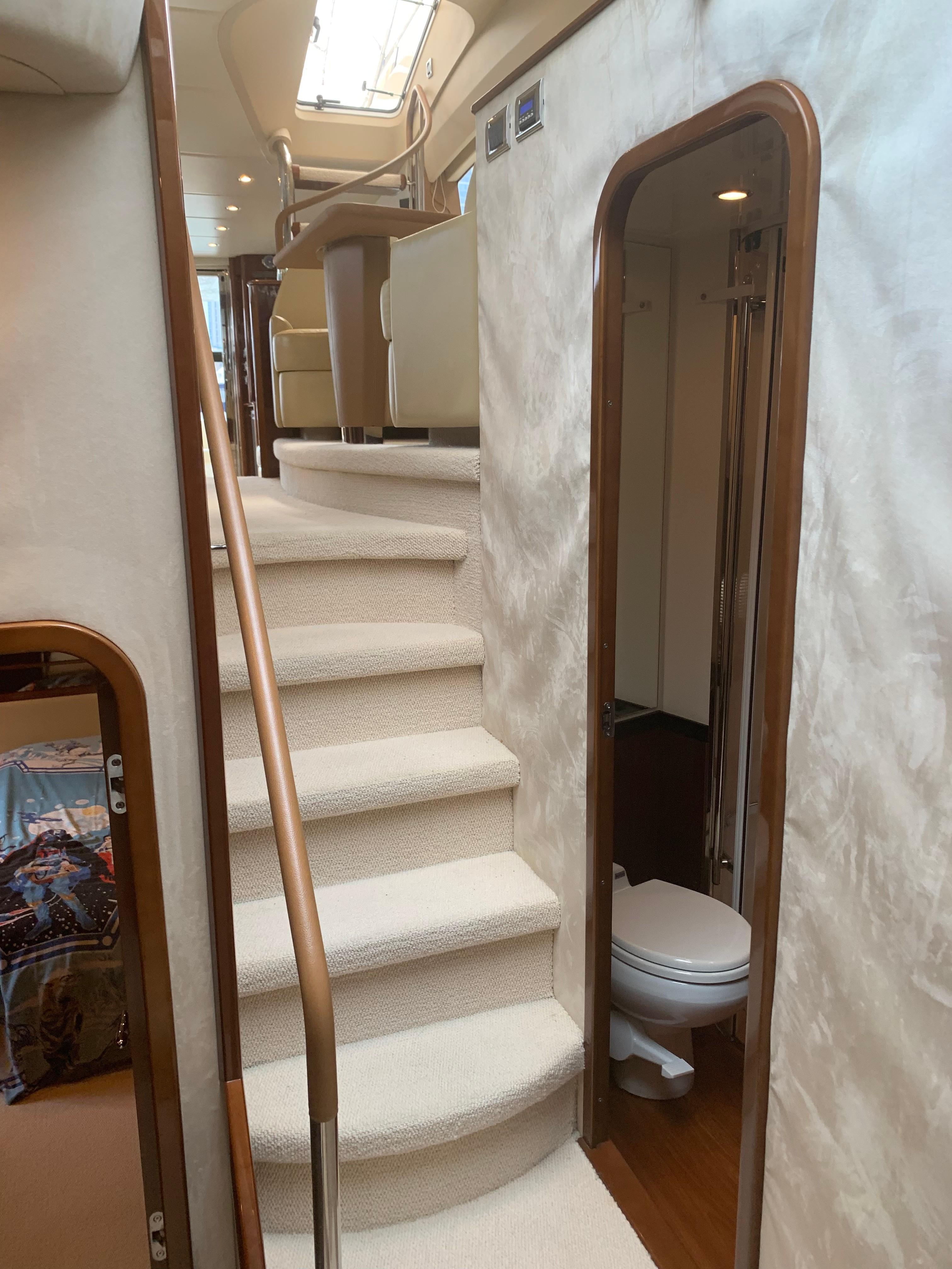 Princess 67 - Interior Stairs