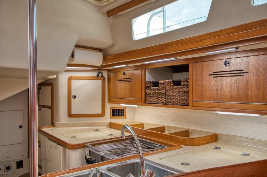 Large galley and pantry