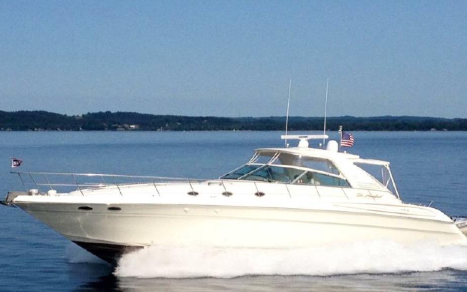 60 ft Sea Ray 58 60 SSS