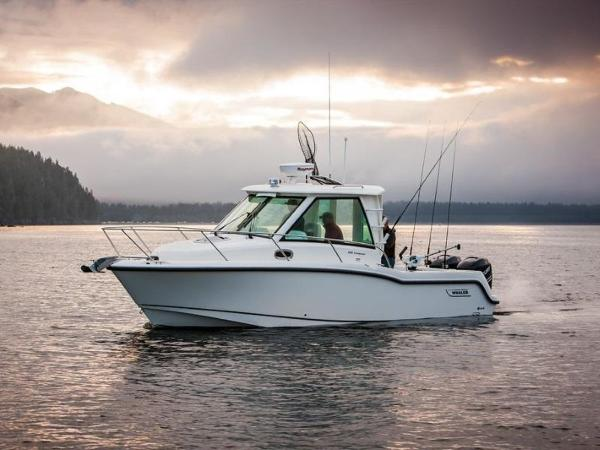 2020 Boston Whaler boat for sale, model of the boat is 285 Conquest Pilothouse & Image # 2 of 72