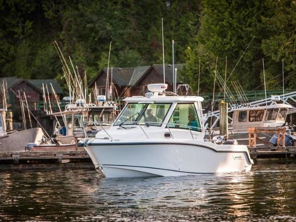 2020 Boston Whaler boat for sale, model of the boat is 285 Conquest Pilothouse & Image # 16 of 72