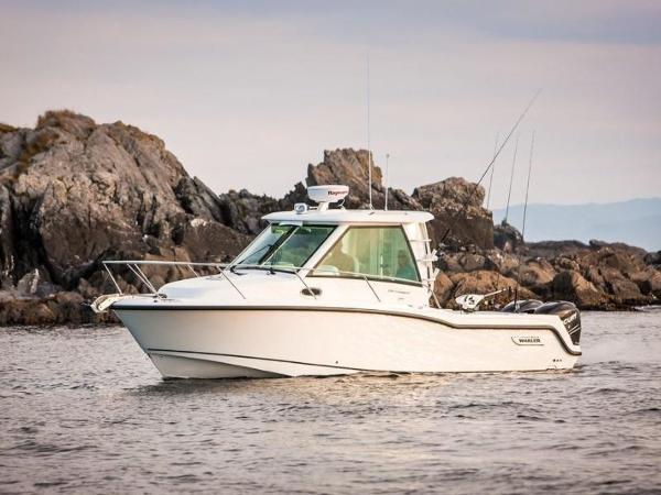 2020 Boston Whaler boat for sale, model of the boat is 285 Conquest Pilothouse & Image # 18 of 72