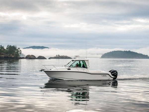 2020 Boston Whaler boat for sale, model of the boat is 285 Conquest Pilothouse & Image # 22 of 72