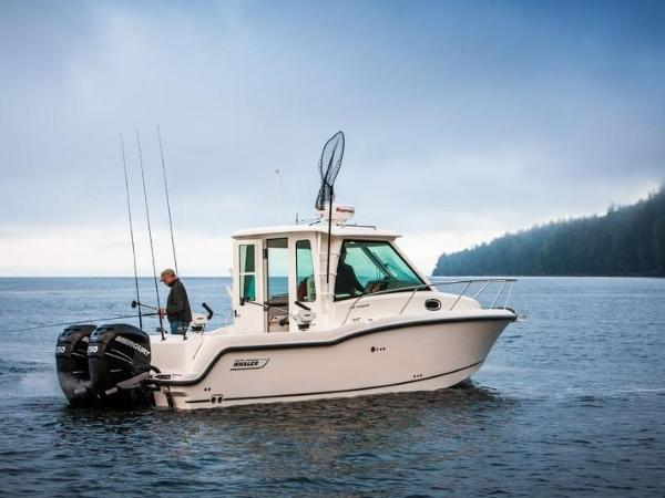 2020 Boston Whaler boat for sale, model of the boat is 285 Conquest Pilothouse & Image # 32 of 72