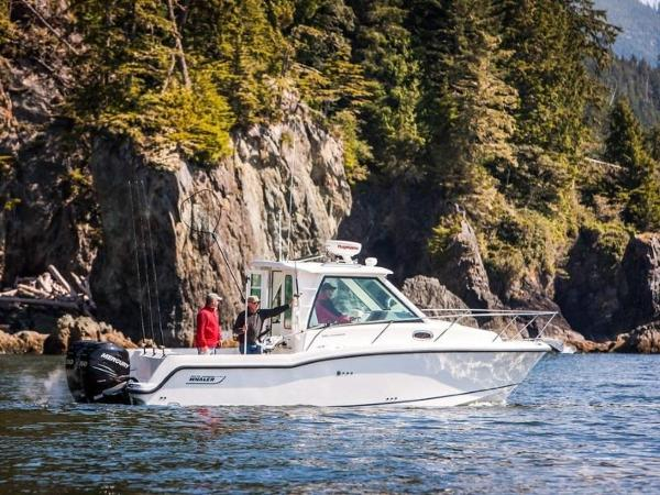 2020 Boston Whaler boat for sale, model of the boat is 285 Conquest Pilothouse & Image # 34 of 72