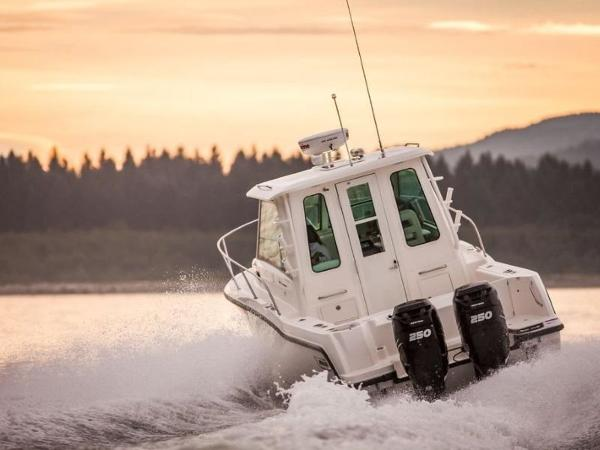 2020 Boston Whaler boat for sale, model of the boat is 285 Conquest Pilothouse & Image # 44 of 72