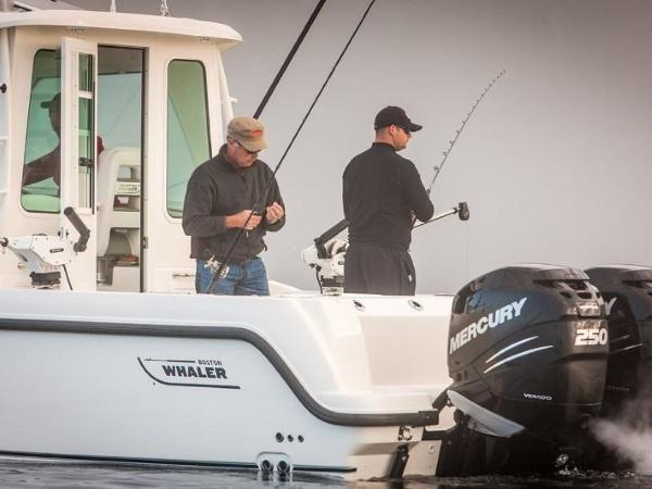 2020 Boston Whaler boat for sale, model of the boat is 285 Conquest Pilothouse & Image # 56 of 72