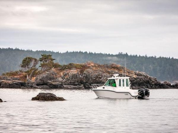 2020 Boston Whaler boat for sale, model of the boat is 285 Conquest Pilothouse & Image # 71 of 72