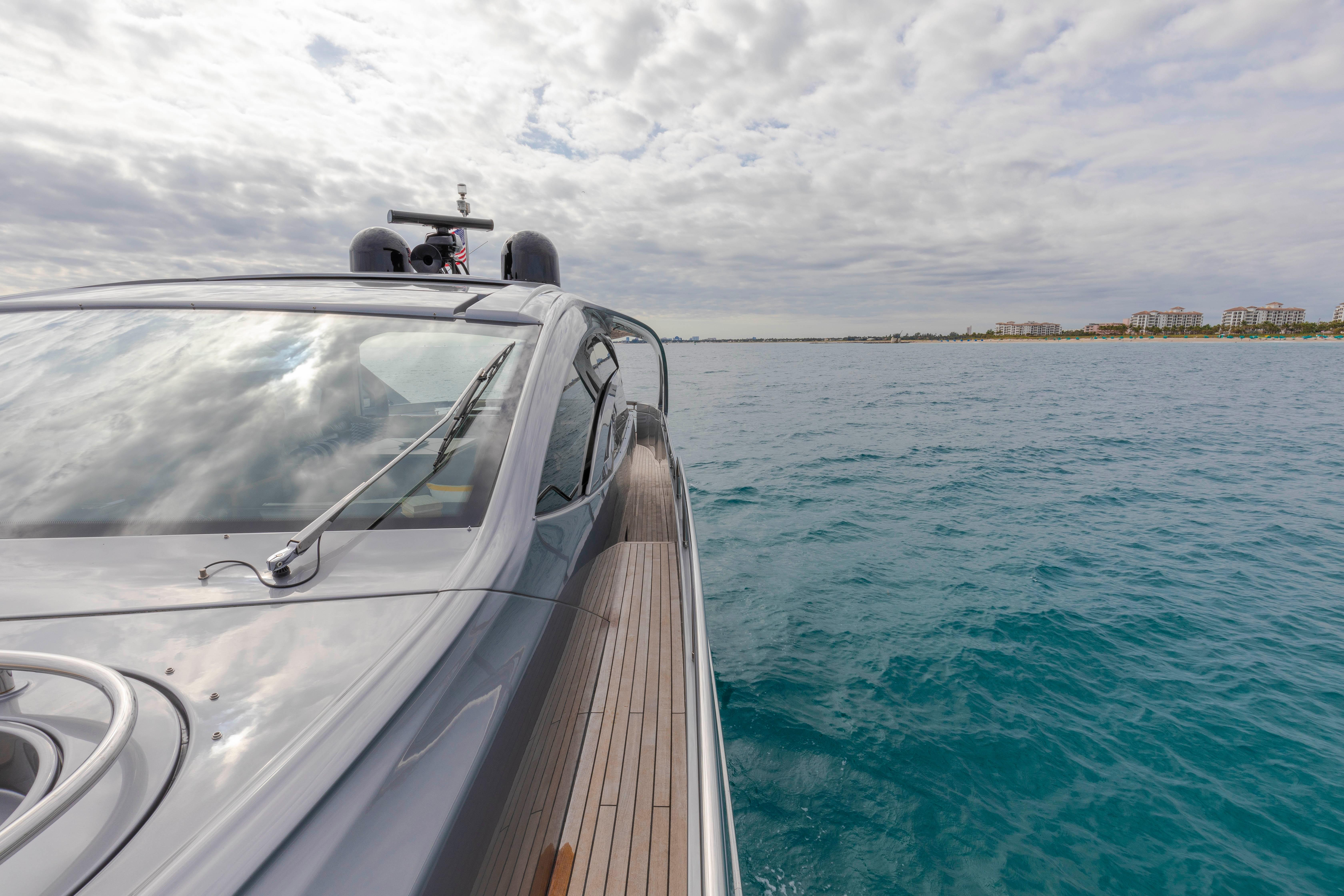 2016 Pershing 70 - Side Decks