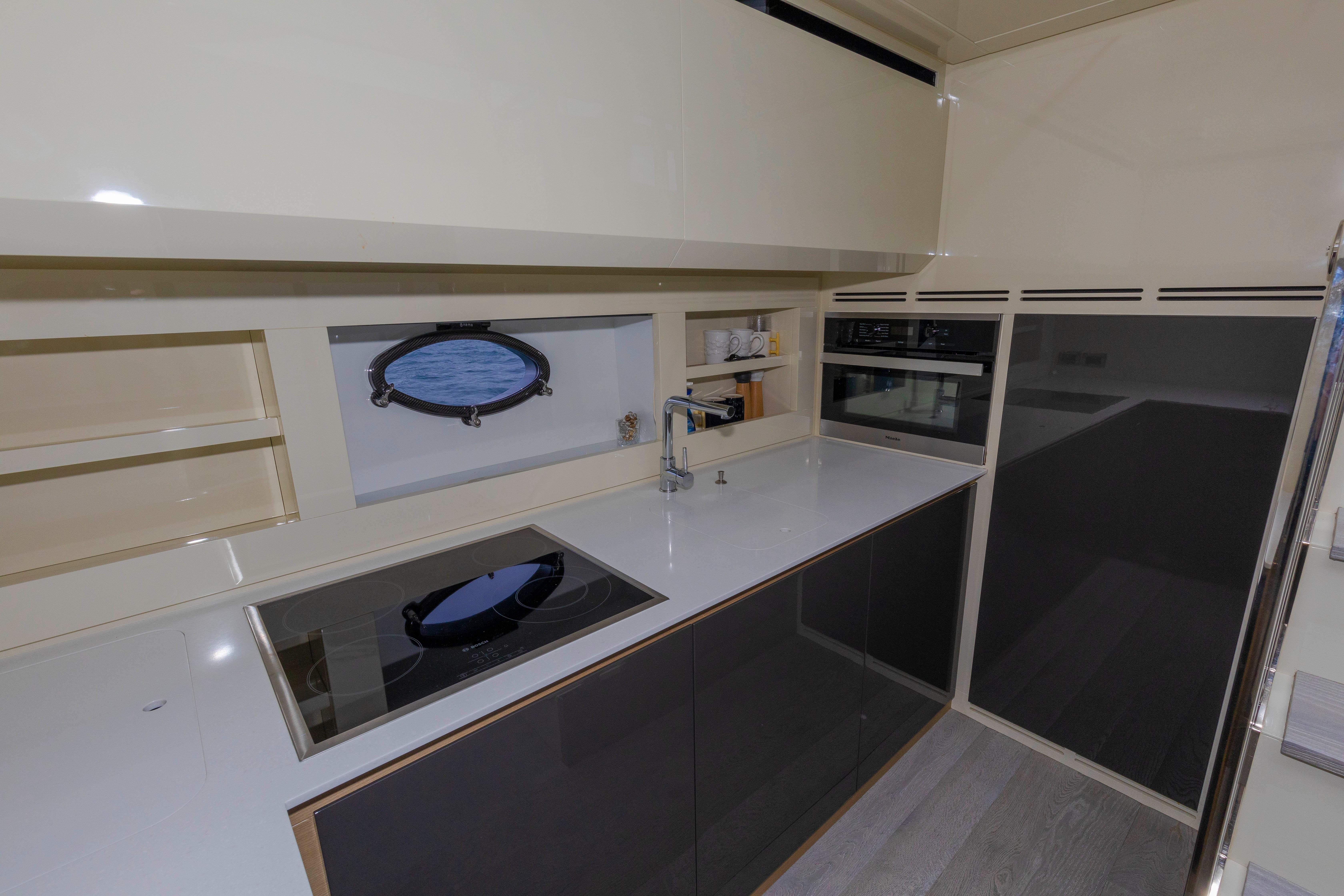 2016 Pershing 70 - Galley