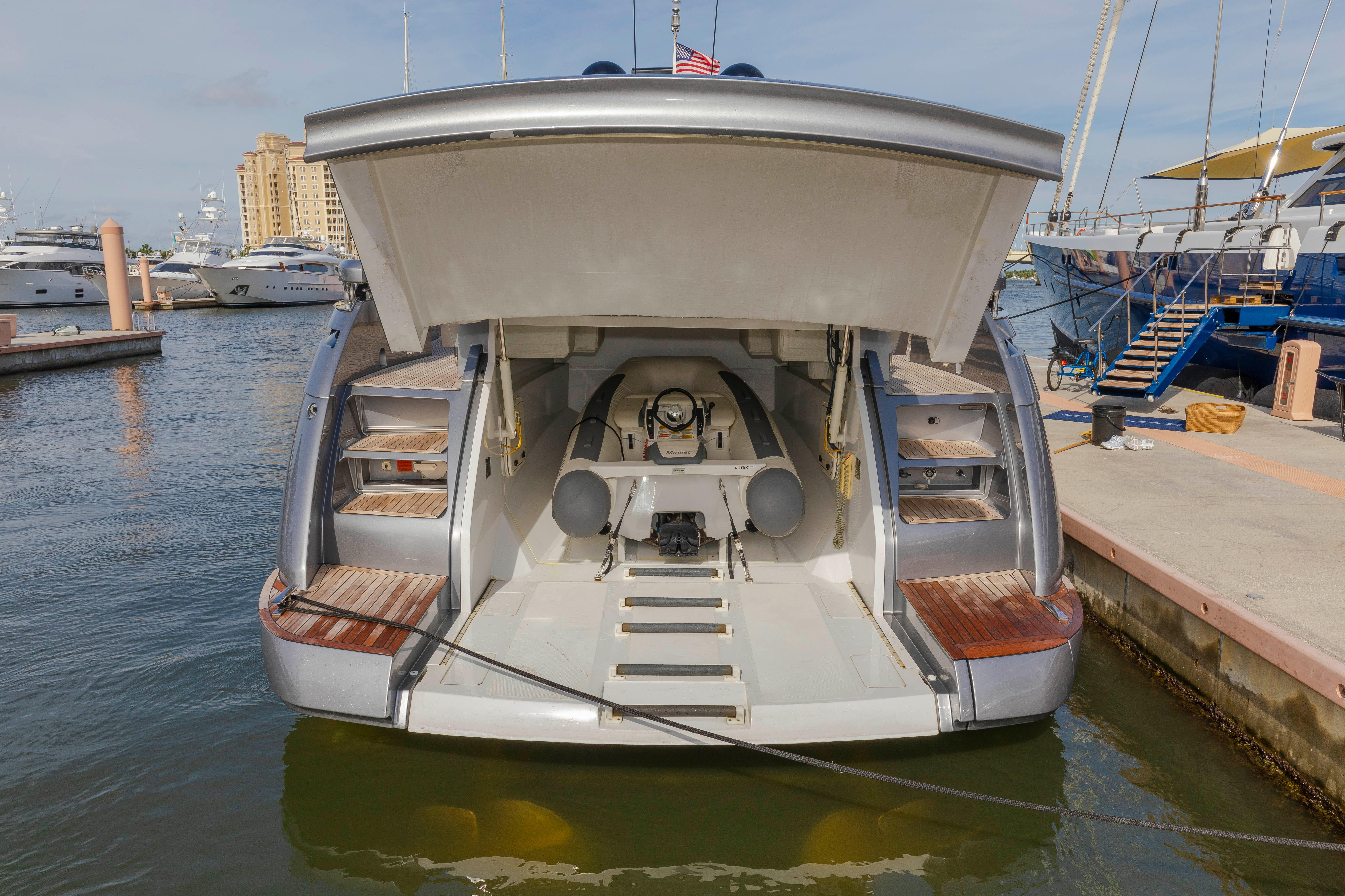 2016 Pershing 70 - Tender/ Garage