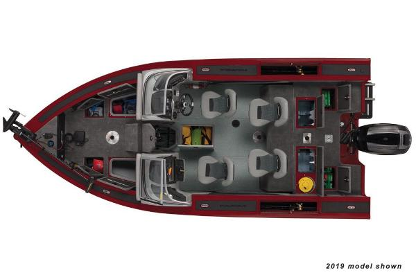 2020 Tracker Boats boat for sale, model of the boat is Targa V-19 Combo & Image # 5 of 5