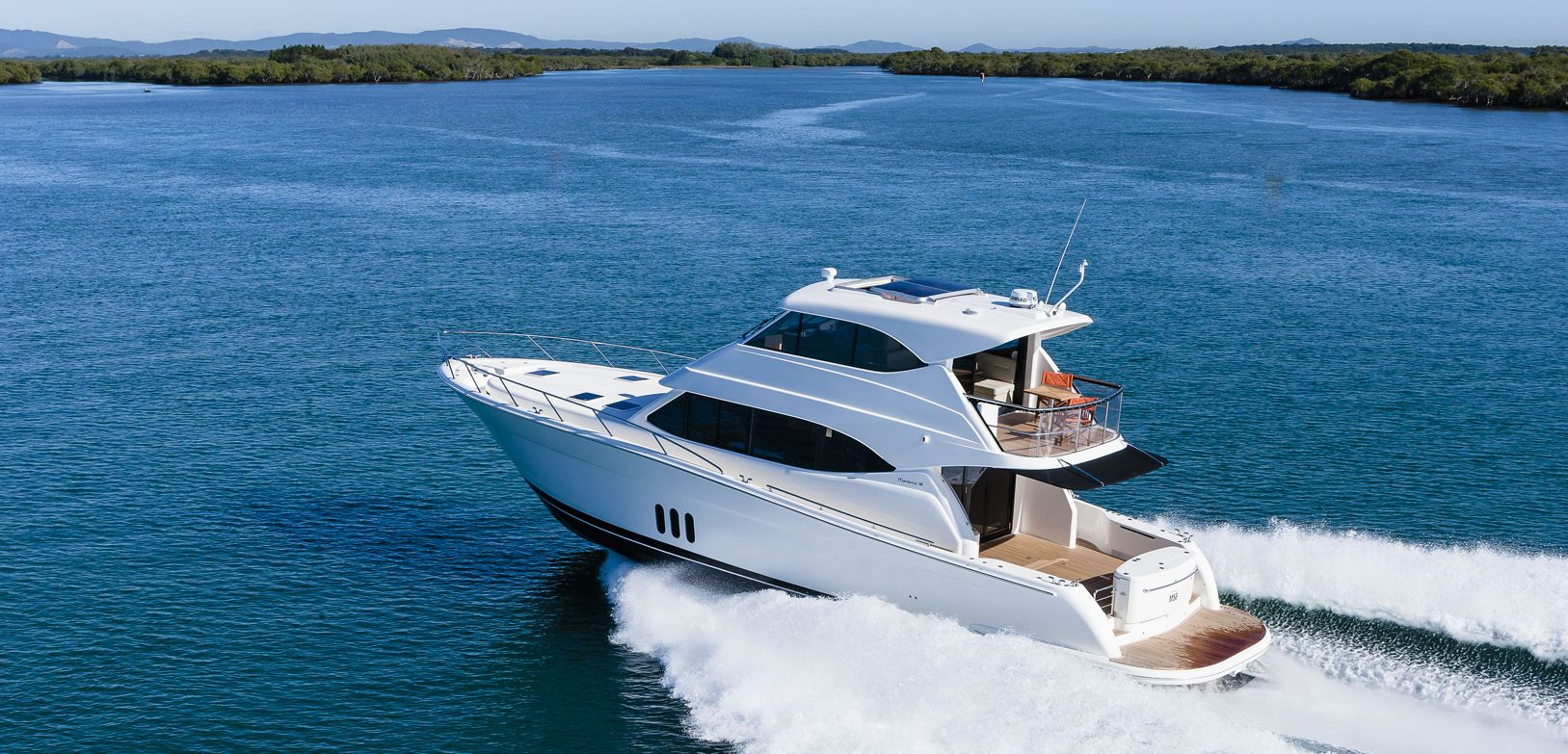 Manufacturer Provided Image: Maritimo M58 Stern