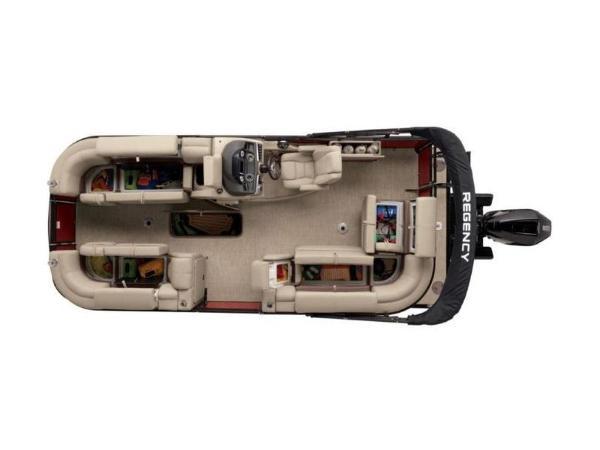 2020 Regency boat for sale, model of the boat is 210 DL3 & Image # 16 of 52