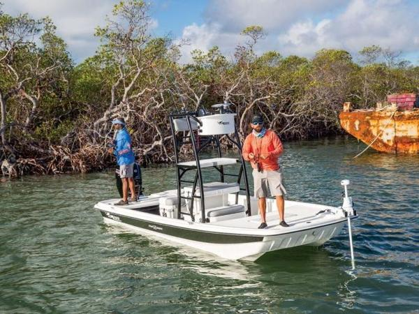 2020 Mako boat for sale, model of the boat is Pro Skiff 19 Top Drive & Image # 4 of 31