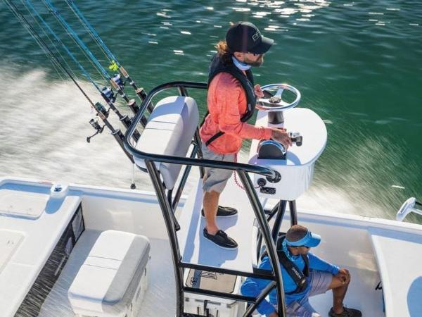 2020 Mako boat for sale, model of the boat is Pro Skiff 19 Top Drive & Image # 28 of 31