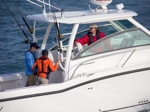 2020 Boston Whaler boat for sale, model of the boat is 315 Conquest & Image # 45 of 79