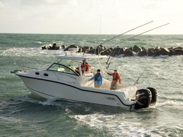 2020 Boston Whaler boat for sale, model of the boat is 315 Conquest & Image # 79 of 79