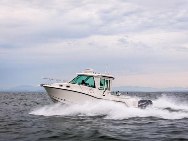 2020 Boston Whaler boat for sale, model of the boat is 315 Conquest Pilothouse & Image # 2 of 72