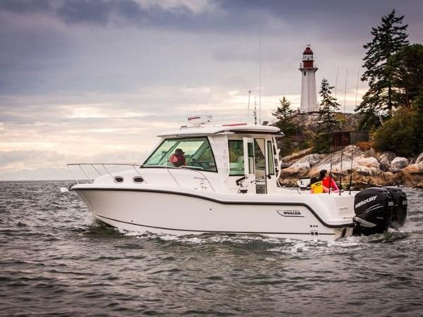2020 Boston Whaler boat for sale, model of the boat is 315 Conquest Pilothouse & Image # 10 of 72