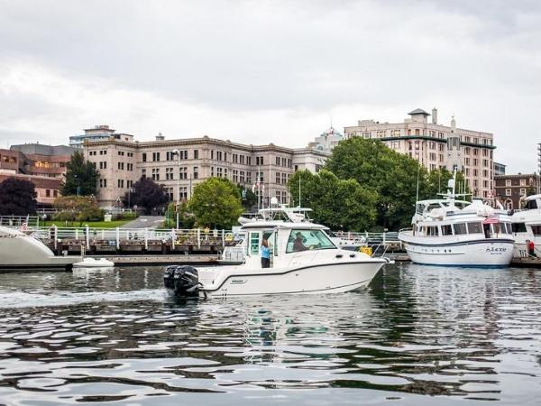 2020 Boston Whaler boat for sale, model of the boat is 315 Conquest Pilothouse & Image # 30 of 72