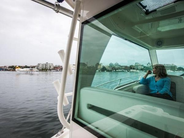 2020 Boston Whaler boat for sale, model of the boat is 315 Conquest Pilothouse & Image # 49 of 72