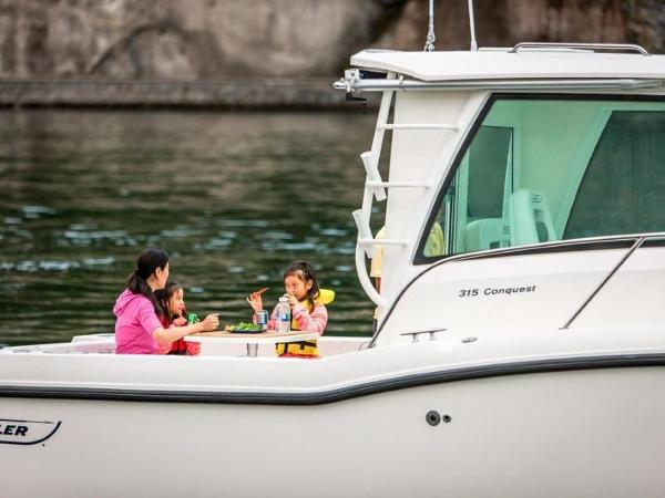 2020 Boston Whaler boat for sale, model of the boat is 315 Conquest Pilothouse & Image # 70 of 72