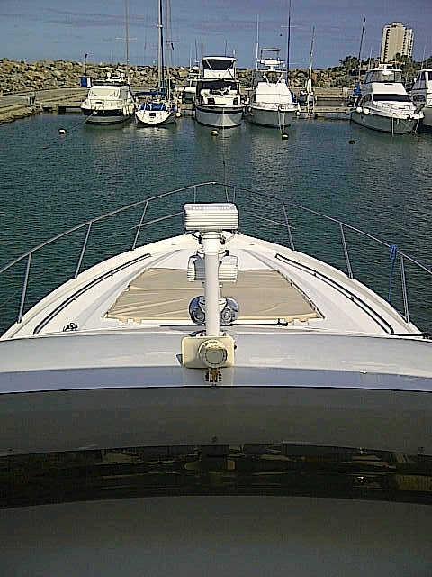 Flybridge Bow View