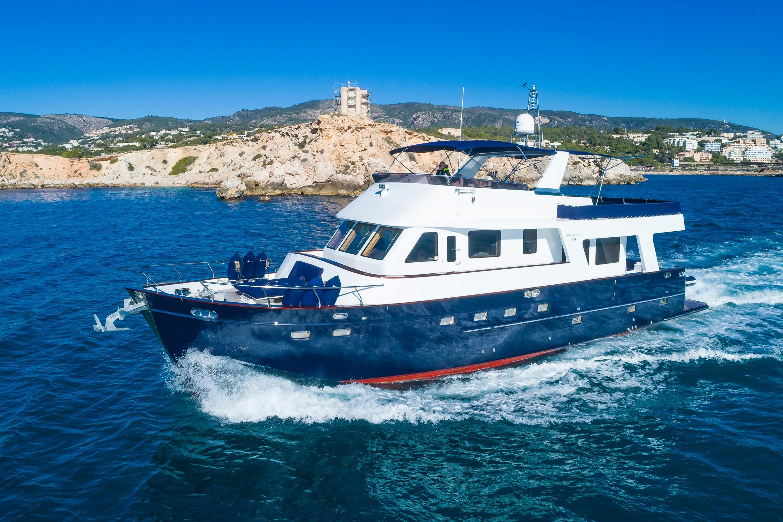 Trawler Blue Sailor Maxmara MY