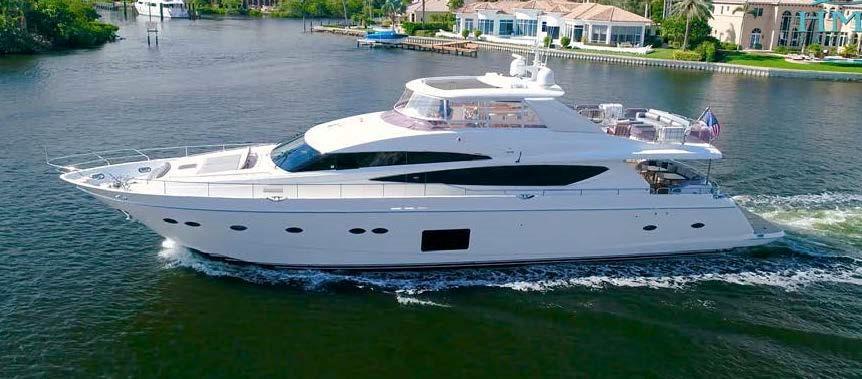 95 ft Princess Motor Yacht