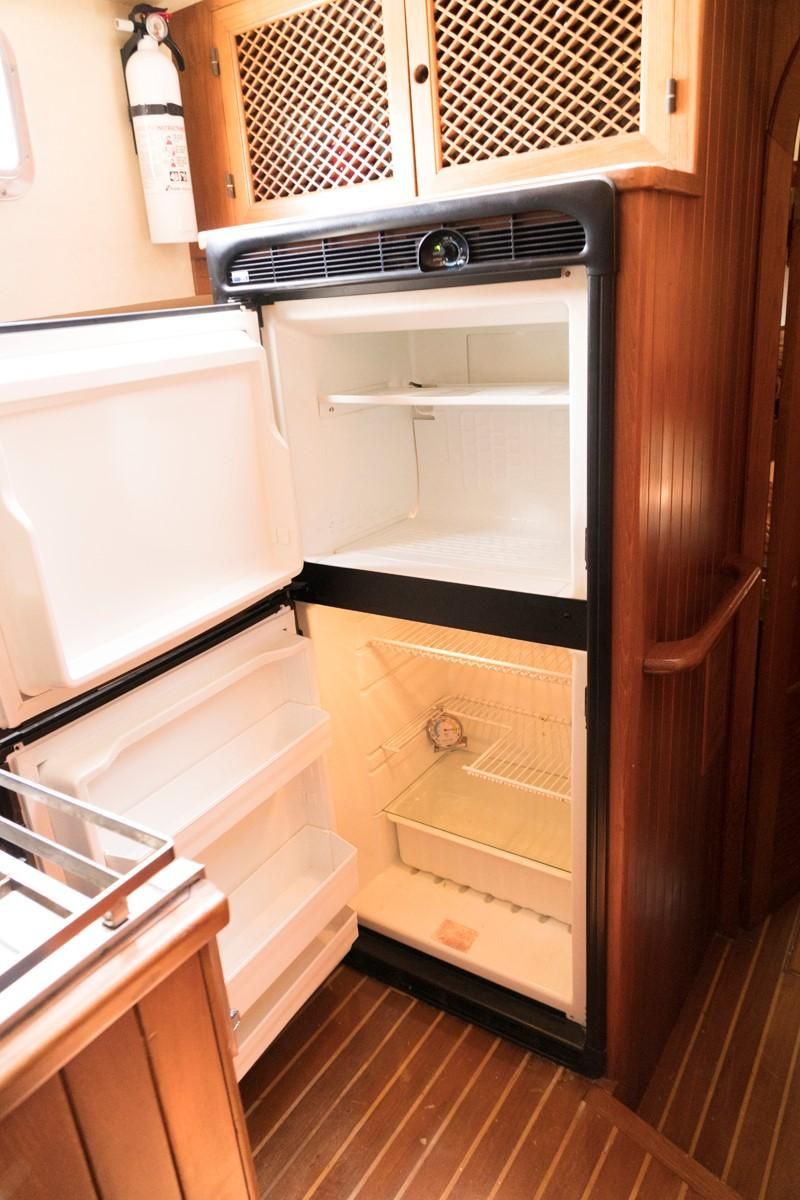 Custom 42 Taiwan Overseas - Galley Refrigerator/Freezer