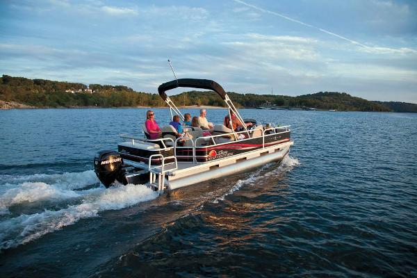 2013 Sun Tracker boat for sale, model of the boat is Fishin' Barge 22 DLX & Image # 5 of 44