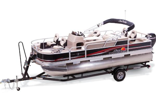 2013 Sun Tracker boat for sale, model of the boat is Fishin' Barge 22 DLX & Image # 7 of 44