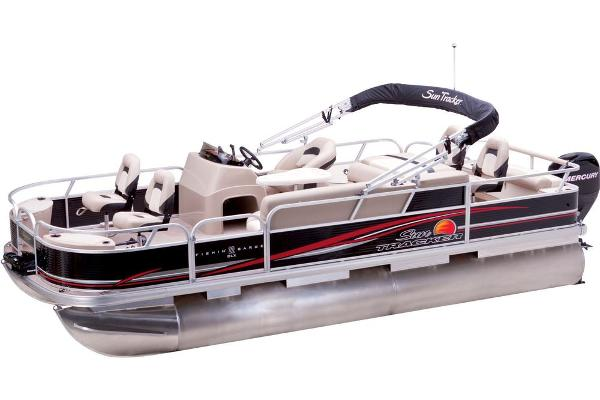 2013 Sun Tracker boat for sale, model of the boat is Fishin' Barge 22 DLX & Image # 6 of 44