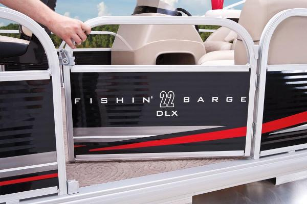 2013 Sun Tracker boat for sale, model of the boat is Fishin' Barge 22 DLX & Image # 35 of 44