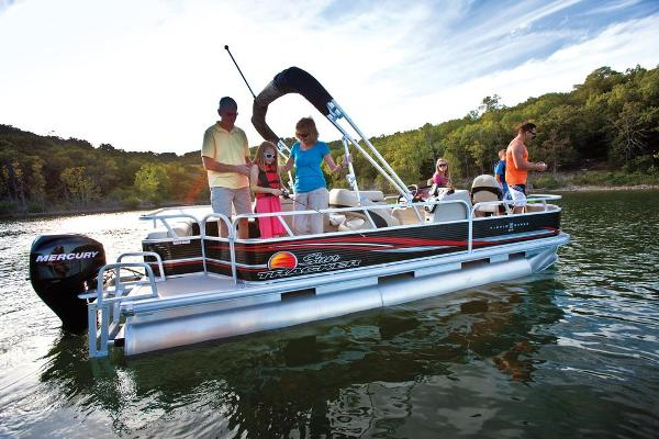 2013 Sun Tracker boat for sale, model of the boat is Fishin' Barge 22 DLX & Image # 44 of 44