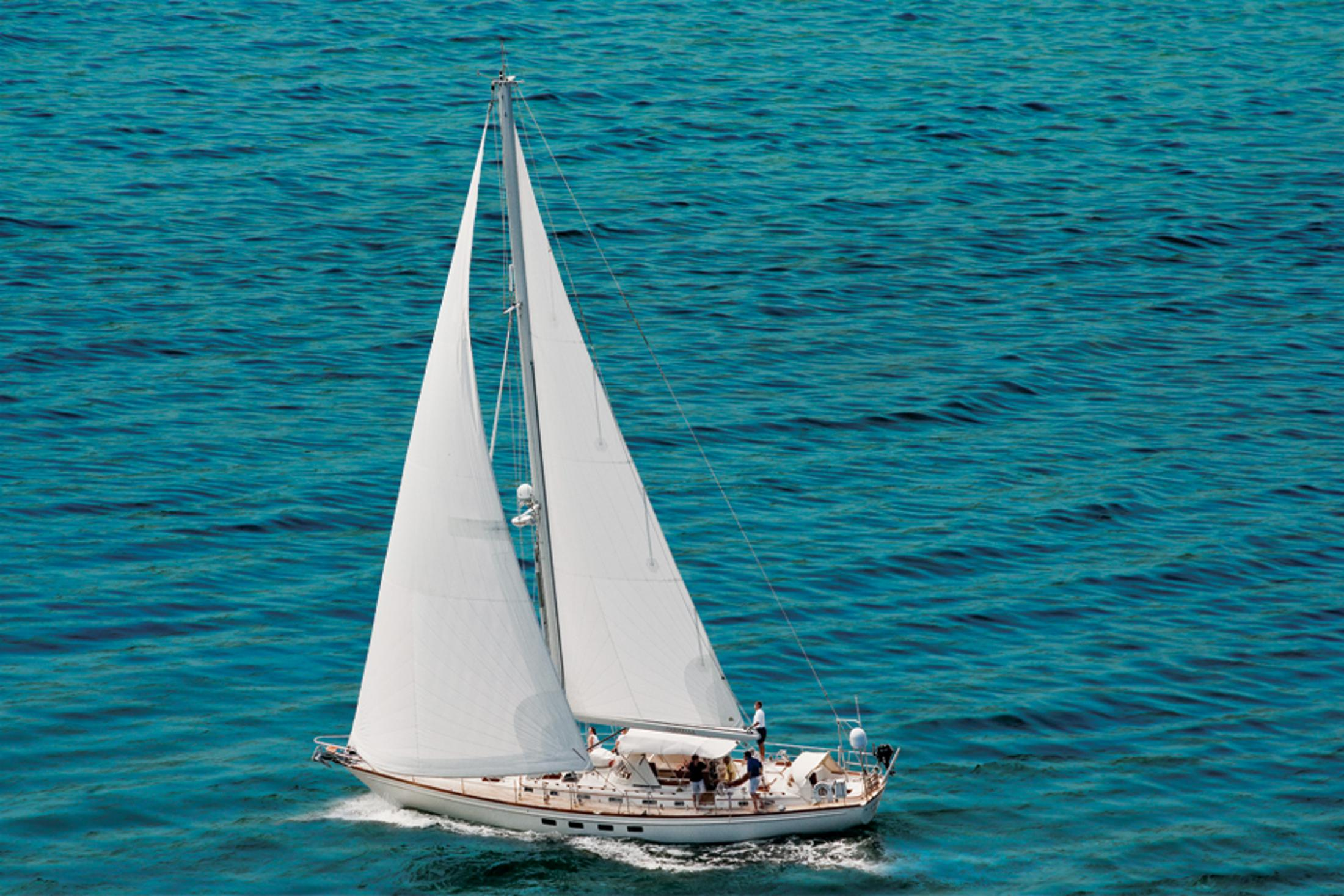 58 little harbor 1989 carmella palm beach florida