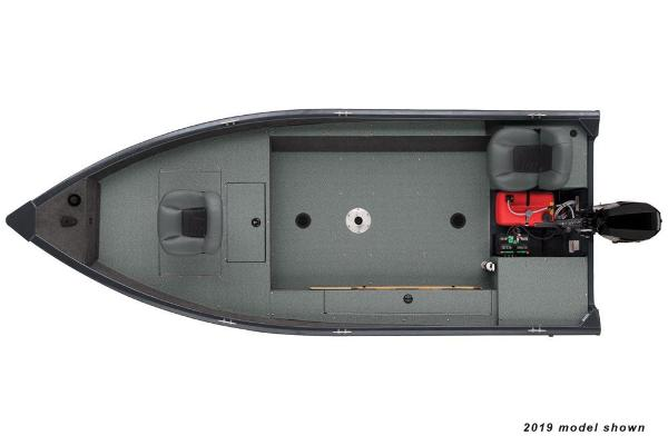 2020 Tracker Boats boat for sale, model of the boat is Guide V-16 Laker DLX T & Image # 28 of 29