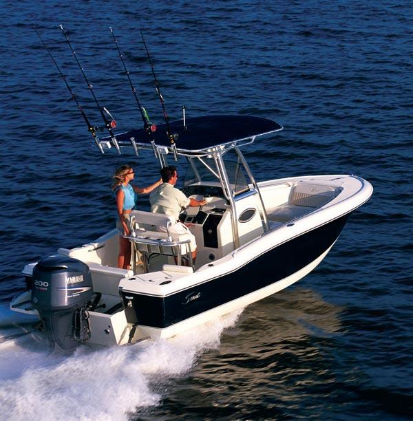 лодка scout 400
