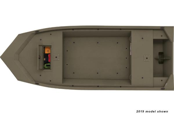 2020 Tracker Boats boat for sale, model of the boat is Grizzly 1648 Jon & Image # 7 of 15