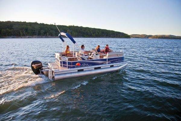 2013 SUN TRACKER PARTY BARGE 18 DLX for sale