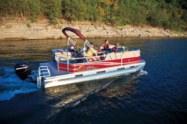 2013 SUN TRACKER PARTY BARGE 20 DLX for sale