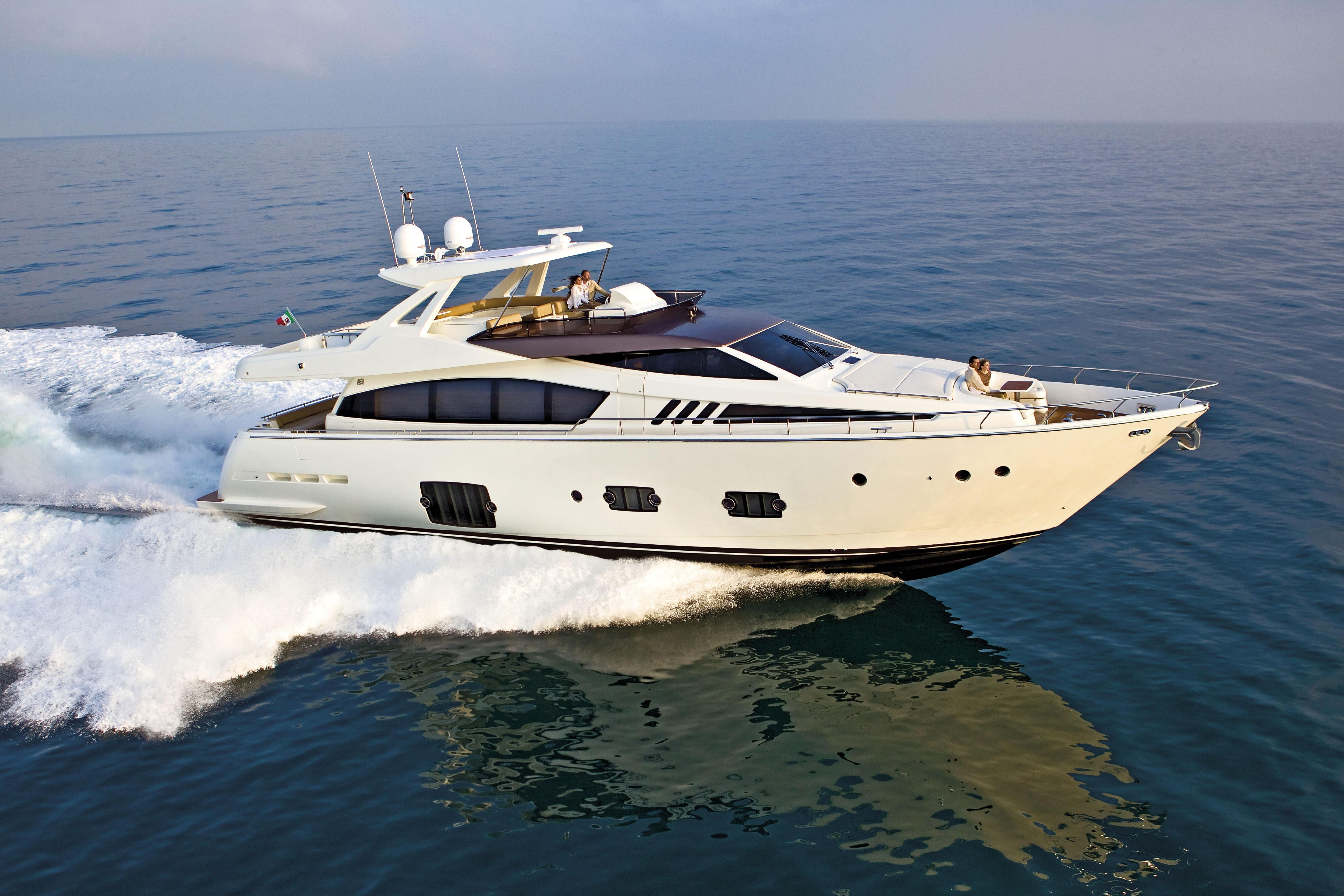 Manufacturer Provided Image: Ferretti 830 Side View