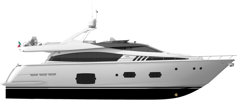 Manufacturer Provided Image: Ferretti 830 Profile