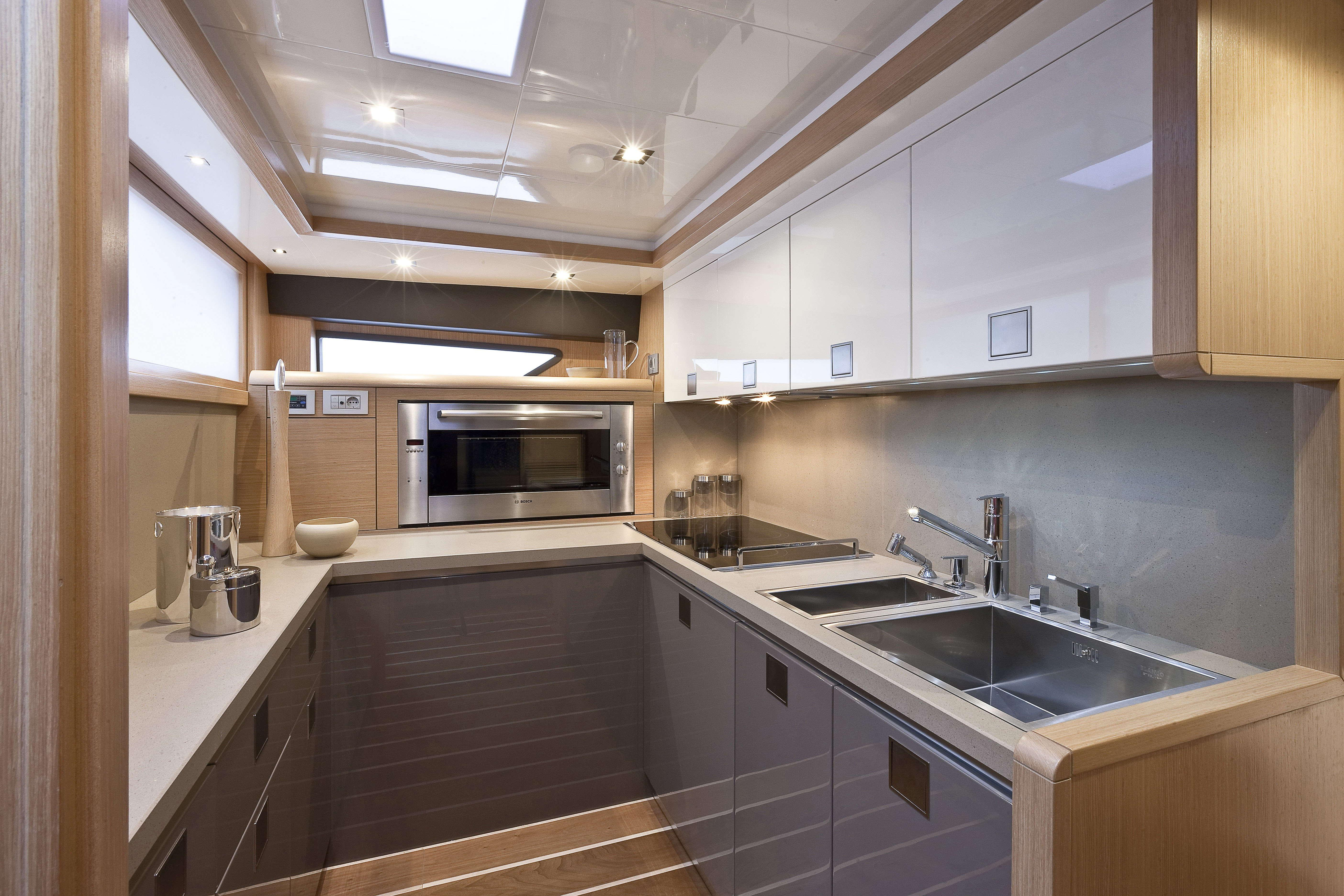 Manufacturer Provided Image: Ferretti 830 Galley