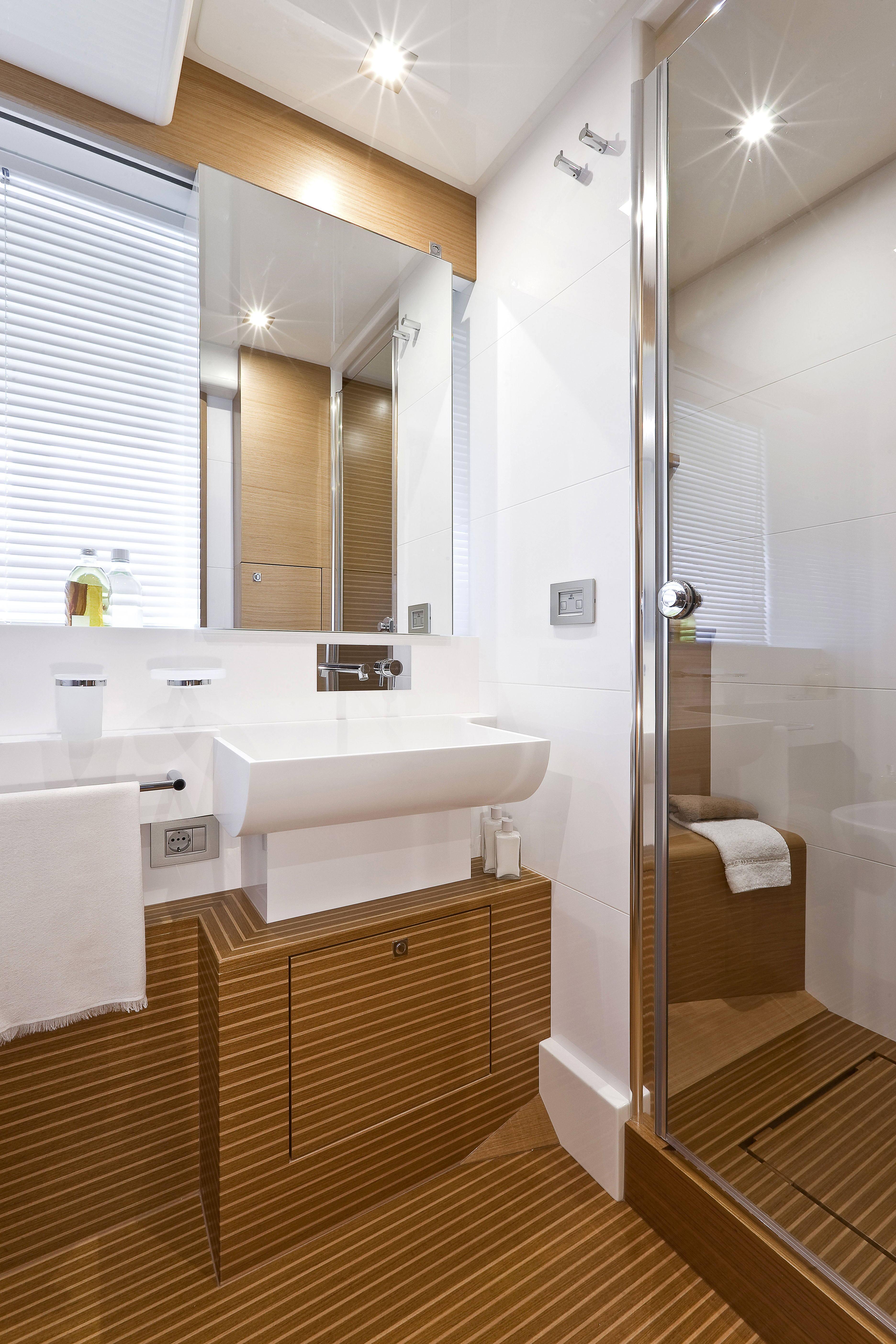 Manufacturer Provided Image: Ferretti 830 Bathroom