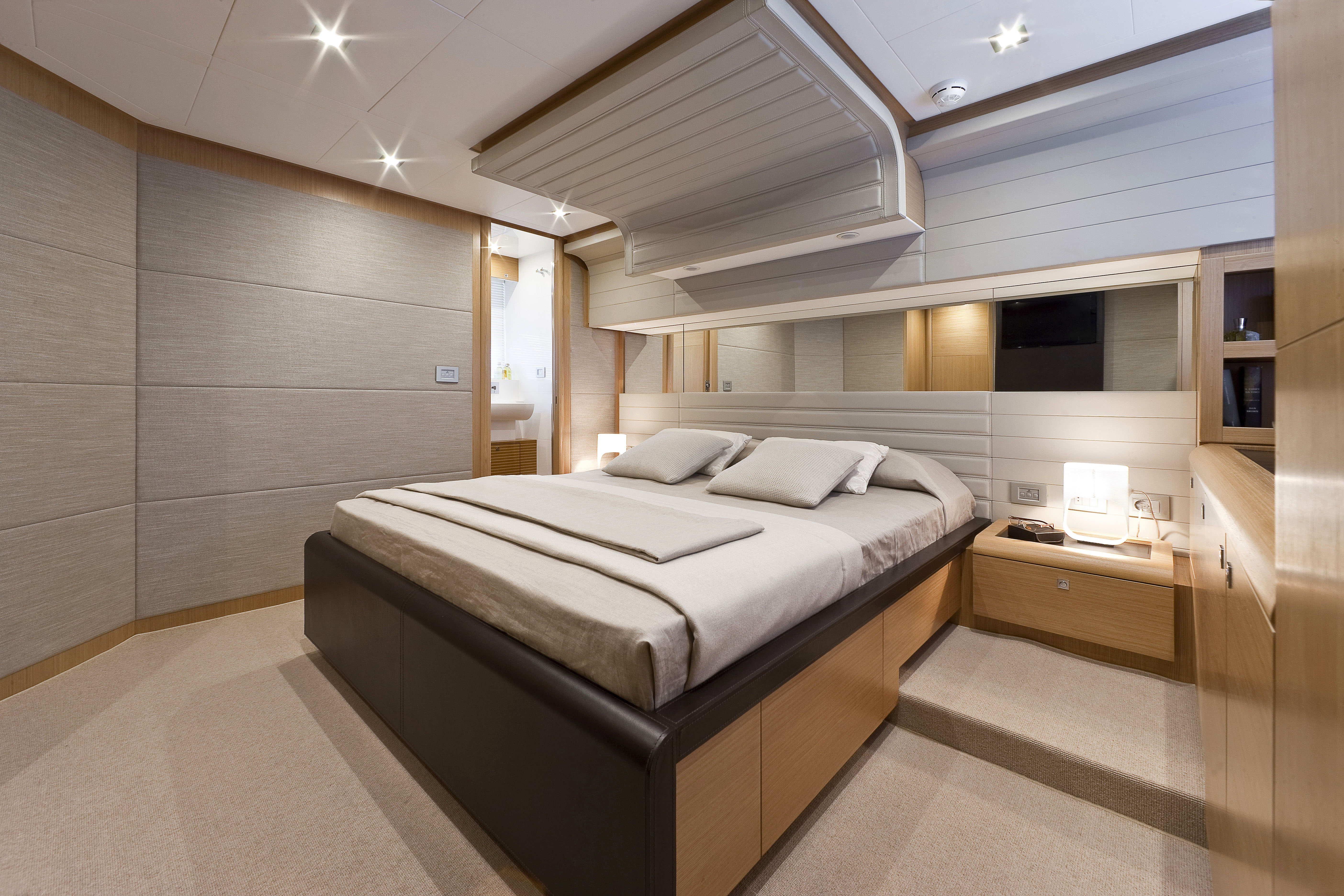 Manufacturer Provided Image: Ferretti 830 Cabin